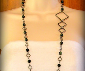 beaded necklace, discount jewelry, and clearance necklace image