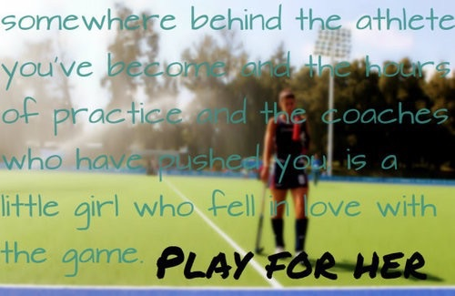Image about quotes in hockey 🏑 by Live Love Laugh