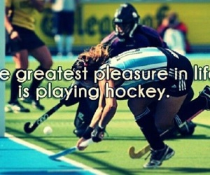 field, hockey, and quote image