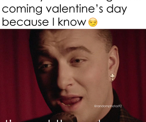 funny, single, and valentine image