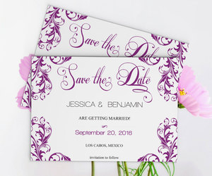 etsy, diy wedding, and save the dates image