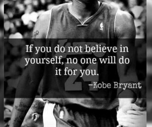 kobe bryant, Basketball, and motivation image