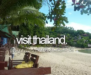 thailand, before i die, and travel image