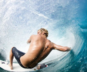 surf, surfing, and boy image