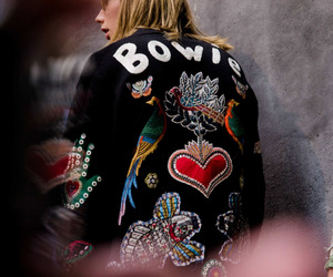 bowie, fashion, and david bowie image