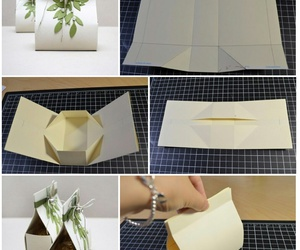 box, Paper, and present image