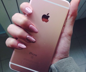 aesthetic, pink nails, and quotes image