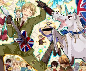 hetalia, anime, and arthur kirkland image