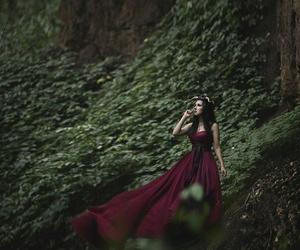 Dream, dress, and wood image