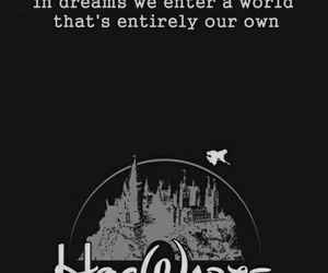 harry potter, hogwarts, and Dream image