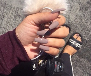 nails, adidas, and style image