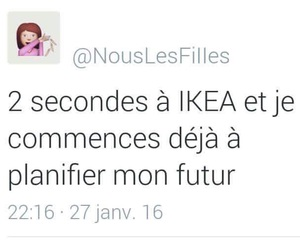 funny, french, and ikea image