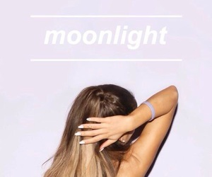 ariana grande, moonlight, and ariana image