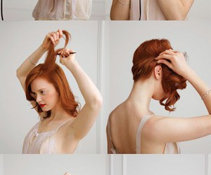hair do and hair stayle red image