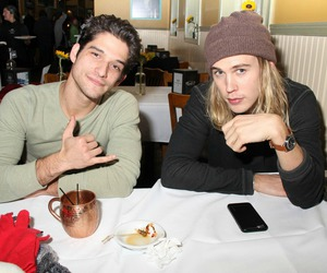 austin butler, teen wolf, and tyler posey image