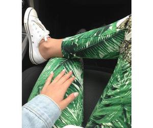 fashion, converse, and green image