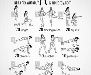 workout, fitness, and sport image