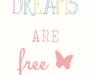 Dream, quote, and free image