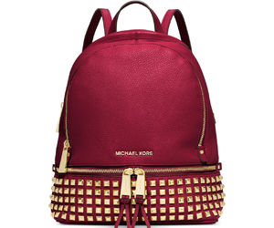 red, bag, and Michael Kors image
