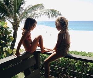 kids and beach image