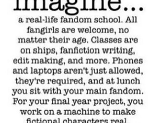 fandom, imagine, and school image