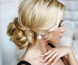 beauty, hairstyle, and blond image