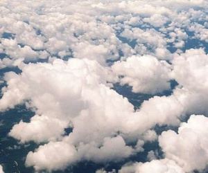 beautiful, clouds, and blue image