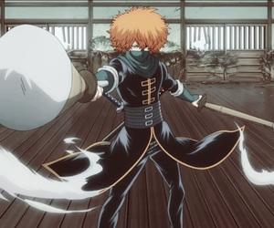 anime, saito, and gin chan image