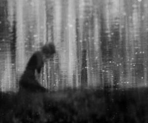 cry, lake, and solitude image