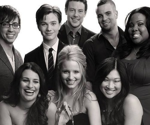 glee, chris colfer, and kevin mchale image