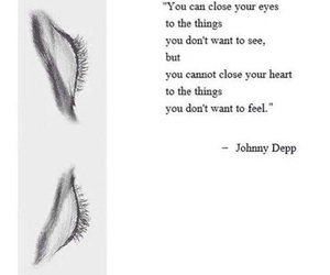 quotes, johnny depp, and eyes image