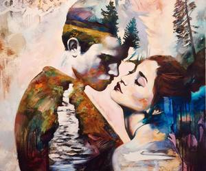 dimitra milan and painting image