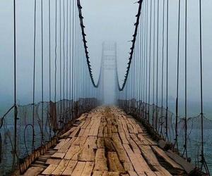 bridge, love, and depressed image