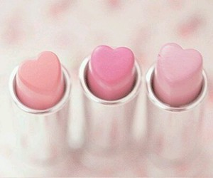 cosmetics, heart, and look image