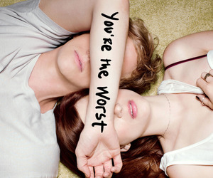 you're the worst, chris geere, and aya cash image