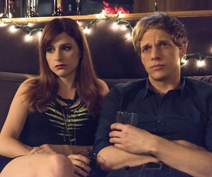 chris geere, gretchen cutler, and you're the worst image