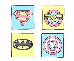 overlay, batman, and hero image