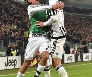 Juventus, alvaro morata, and paulo dybala image