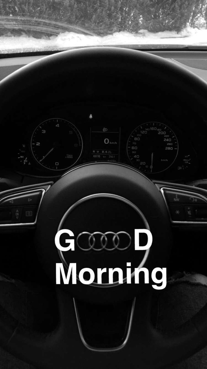 Good Morning People Shared By Luxury Photo On We Heart It - Is audi a good car