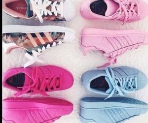 shoes, adidas, and cutie image