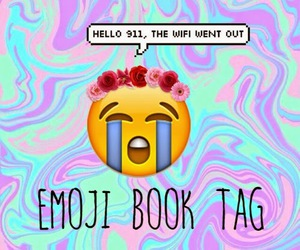 emoticons, wreath of flowers, and perfect image