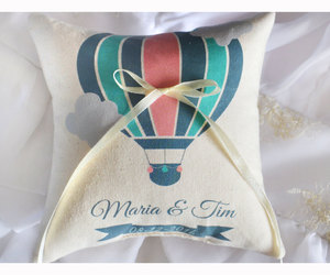 etsy, bridal shower gift, and wedding pillows image