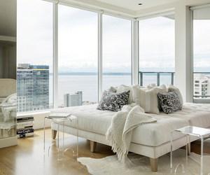 cozy, decor, and seattle image