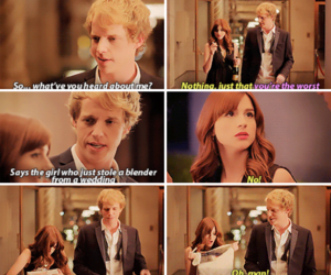 chris geere, you're the worst, and aya cash image