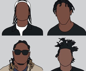 the weeknd, future, and asap rocky image