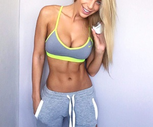 fitness, abs, and fit image