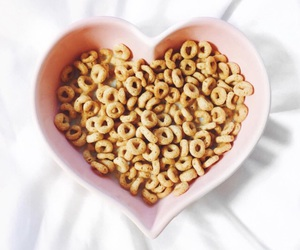 breakfast, cereal, and heart image