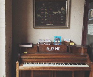 piano, grunge, and hipster image