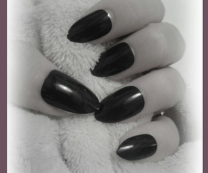 black, much, and nails image