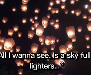 sky, bruno mars, and love lighters image